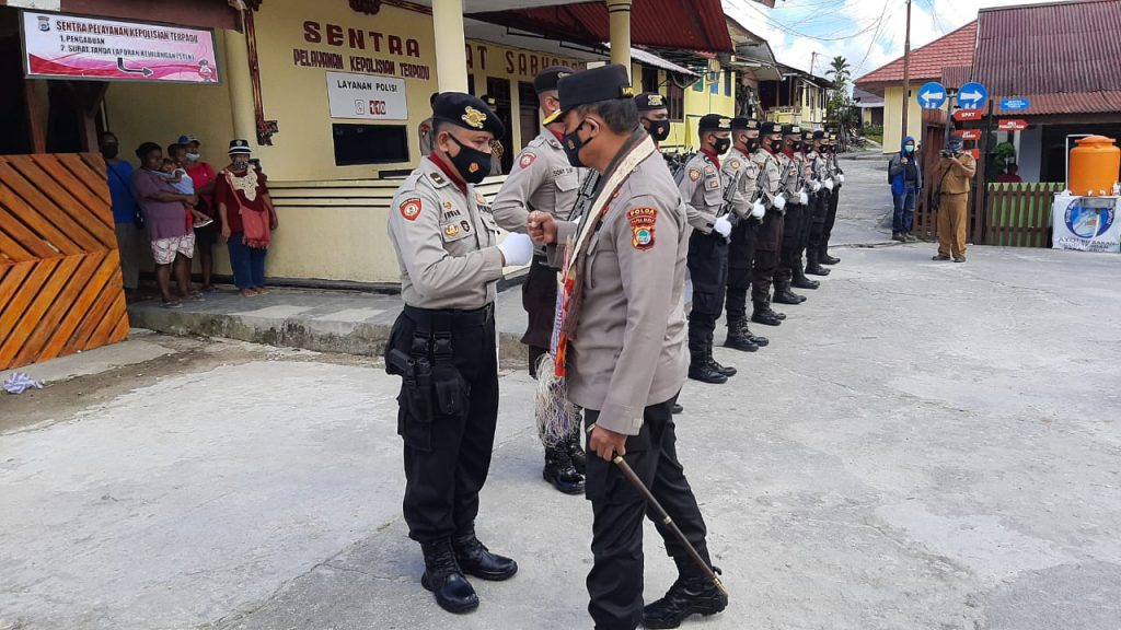 Kapolda Irjen Pol Tornagogo Puji Personil Polres Sorsel, Tapi Ingat..! Ini Pesannya