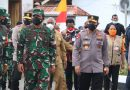 Kapolda Pabar Sambut Kedatangan Panglima TNI dan Kapolri Tinjau Serbuan Vaksinasi Massal Di Kota Sorong